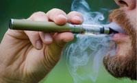 Fumeur de cigarette electronique eGo