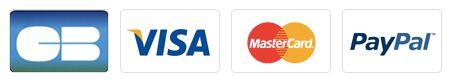 Logos des moyens de paiement acceptés