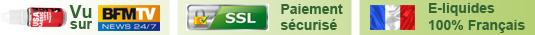 Toutes les garanties du Numero 1 de l'e-liquide sur Internet