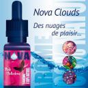 Nova Clouds, nouvelle gamme d'e-liquide en flacons de 20ml